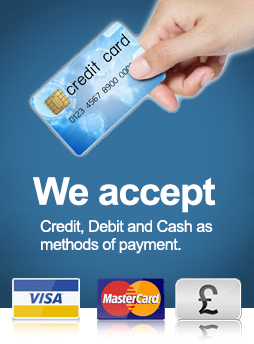 We accept online payments